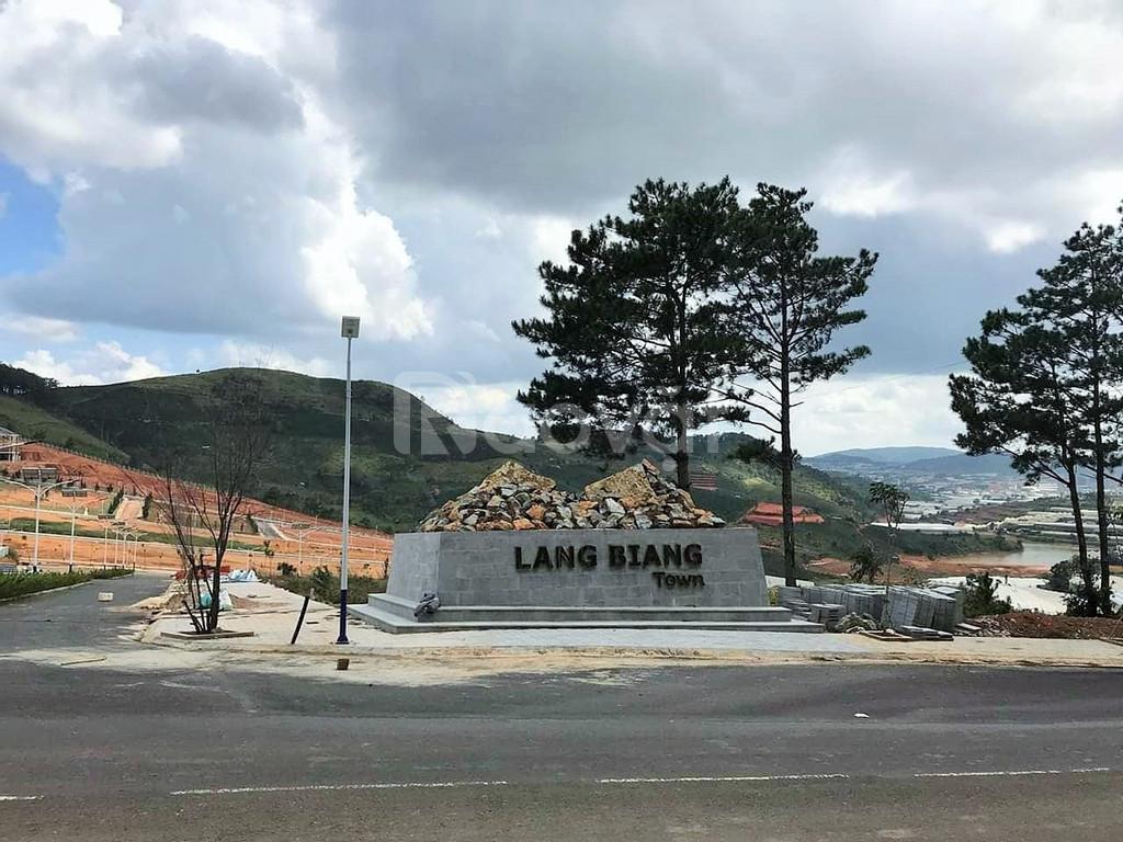 Cơ hội cuối sở hữu ô đất tuyệt đẹp tại Lang Biang Town, hãy đến và cảm
