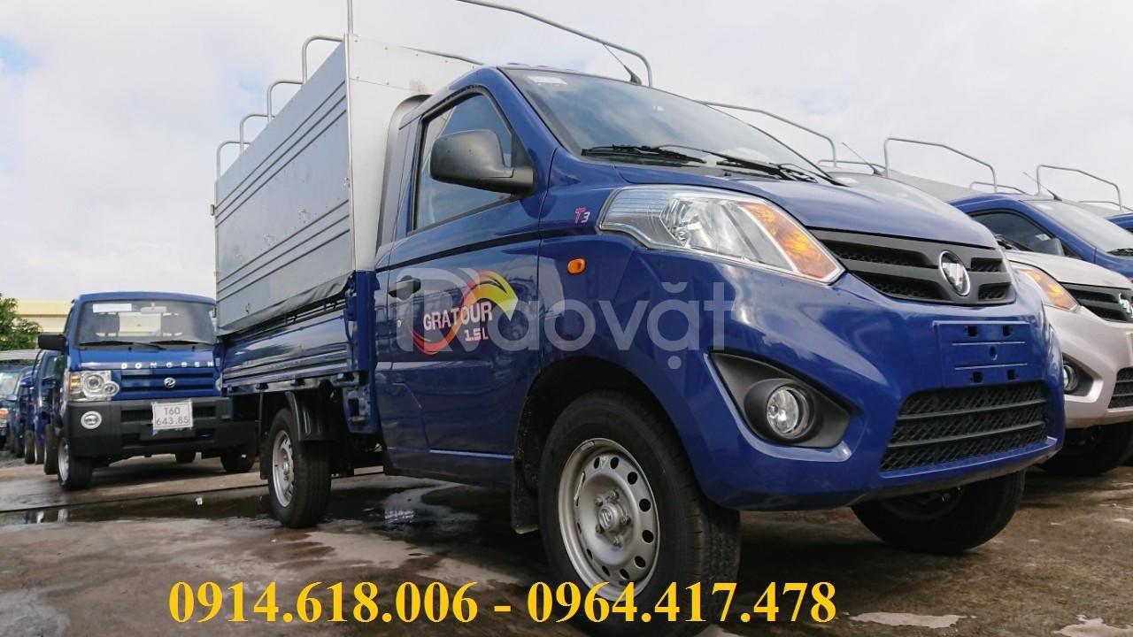 FoTon 900kg,xe nhập khẩu đời 2019, giá mềm, hỗ trợ vay cao