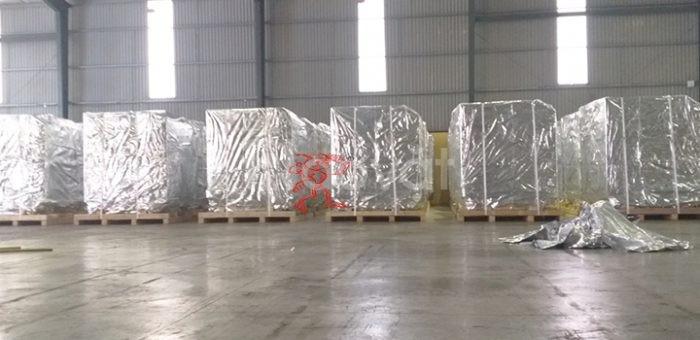 Dịch vụ đóng gói hút chân không cho máy móc công nghiệp