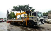 Bán xe tải cẩu HD320 lắp cẩu tự hành Soosan 12 tấn tại Đắk Nông