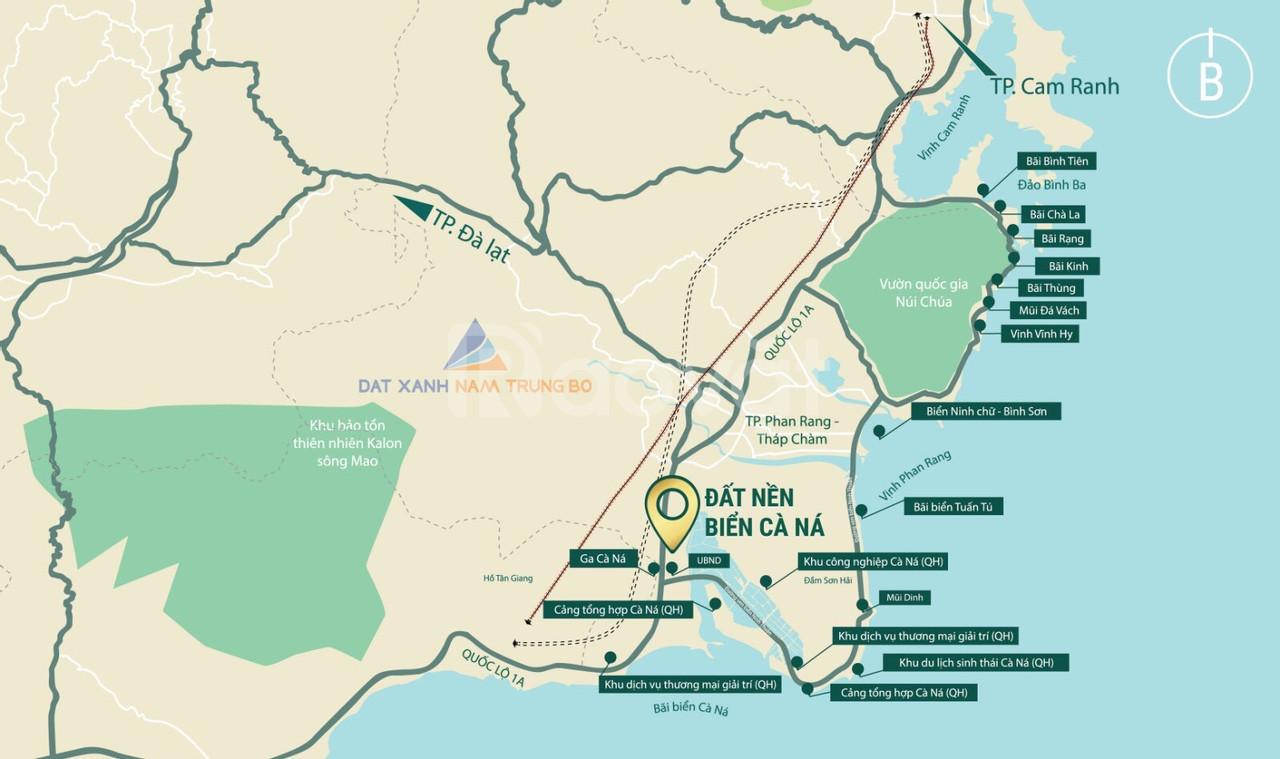 Điểm sáng của D.A đất nền biển Cà Ná N.Thuận Đất Xanh đang triển khai
