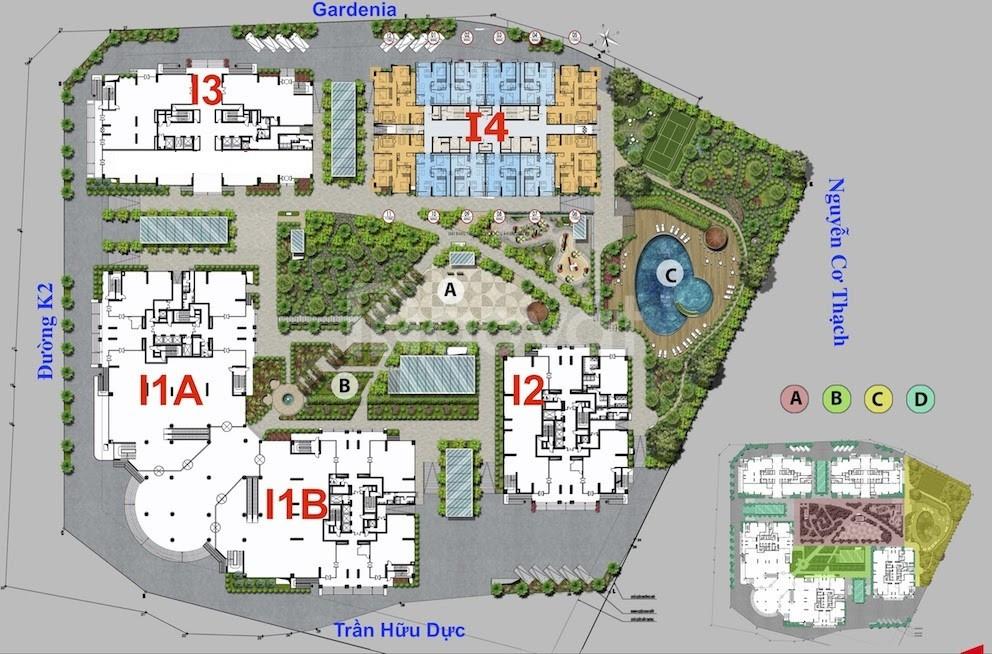 Tặng 185tr khi mua căn hộ 3 phòng ngủ chung cư Iris Garden, Mỹ Đình