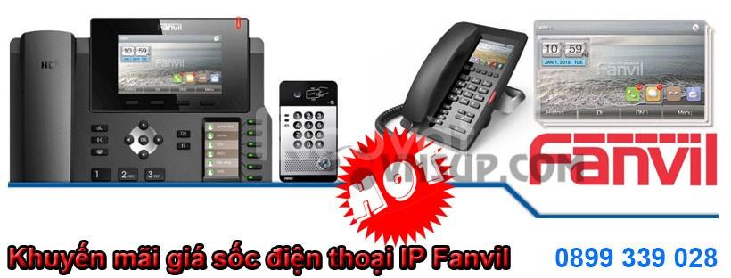 Khuyến mãi giá hấp dẫn điện thoại IP Fanvil