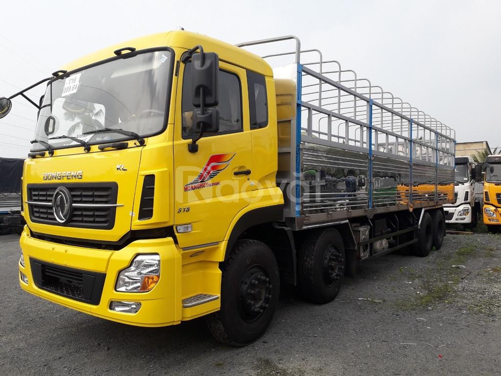 Xe tải 4 chân dongfeng ISL315 đời 2019