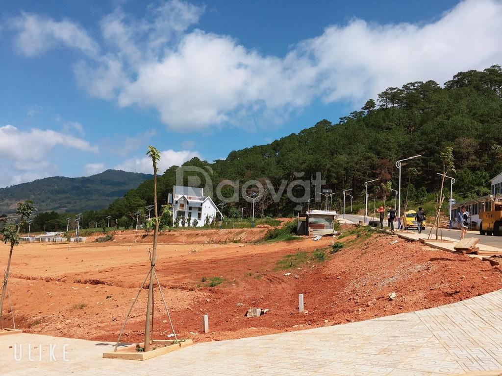 Bán đất nền Biệt Thự Langbiang Town Đà Lạt 15tr/m2