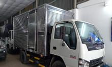 Isuzu 2.5 tấn: KM 100 thuế trước bạ, 200L dầu, 2 vỏ xe