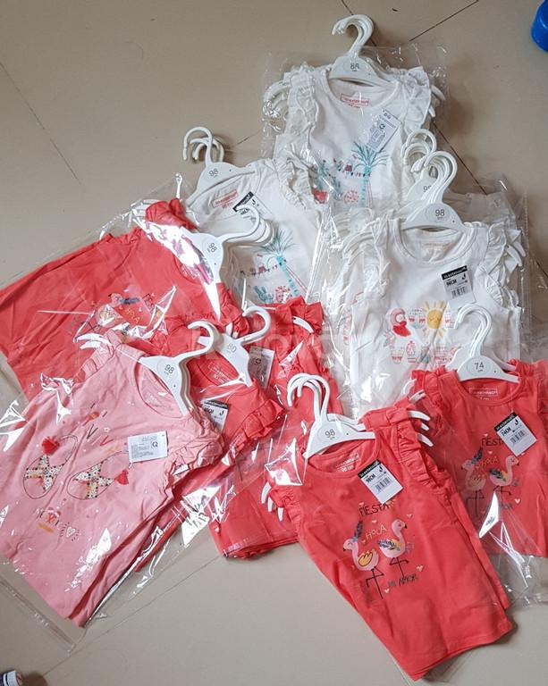 Thanh lý lô hàng quần áo bé trai của siêu thị Pháp