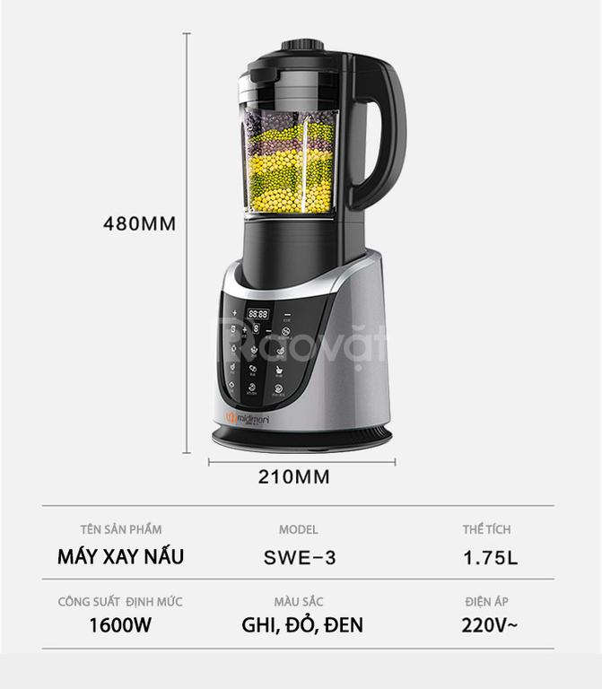 Đánh giá chi tiết máy nấu sữa hạt midimori