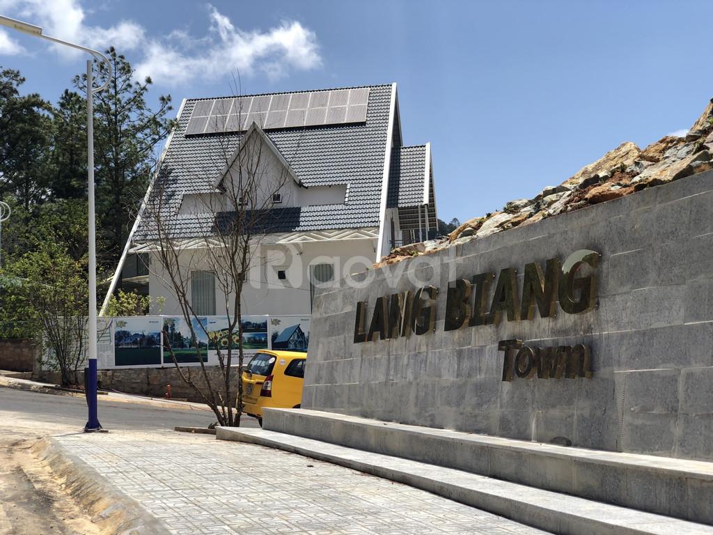Đất nền thung lũng chân mây - Langbiang Town Đà Lạt