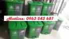Sỉ thùng rác y tế đạp chân 2 ngăn,thùng rác 2 ngăn phân loại tại nguồn (ảnh 1)