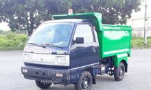 Xe chở rác SUZUKI 2 khối thùng Inox - Hỗ trợ vay 70%