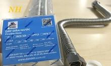 Các loại dây cấp nước inox, dây cấp nước nóng lạnh dài, dây nước nóng