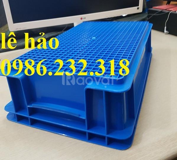 Thùng nhựa b3, hộp nhựa B4, thùng nhựa chữ nhật, nhựa công nghiệp