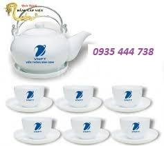 Chuyên cung cấp bộ ấm trà in logo chất lượng tại Quảng Nam