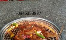 Bếpnướng than hoa không khói Hàn Quốc hút dương ,bếp nướng âm bàn