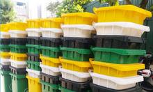 Thùng rác 120L ,thùng rác 240 lít nhựa công nghiệp,thùng rác 120 lít