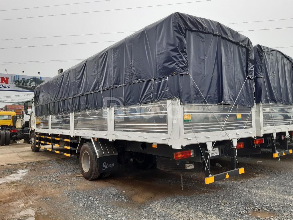 Xe tải Faw 8 tấn thùng dài 9m6 hỗ trợ vay cao
