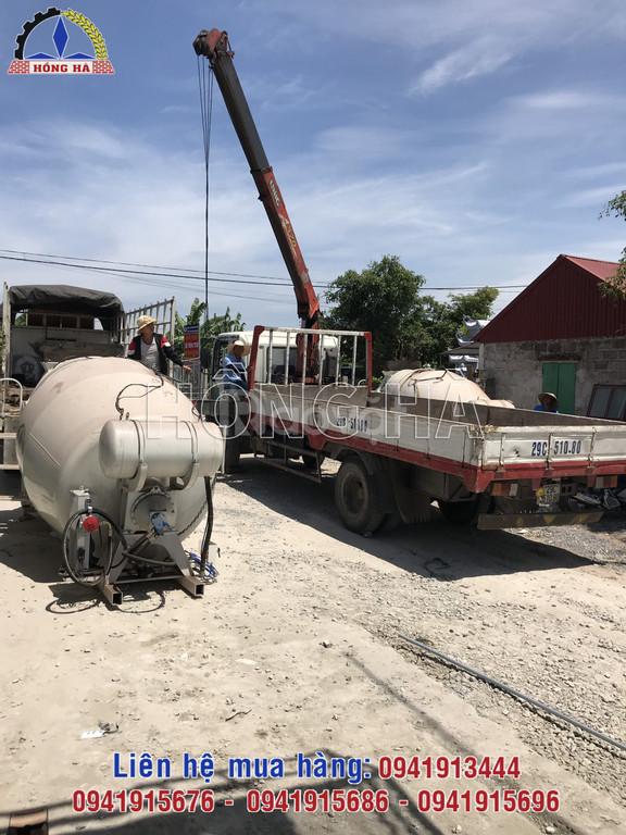 Tìm hiểu về dòng bồn trộn bê tông thủy lực  nhập khẩu