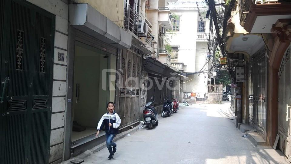Cho thuê nhà mặt phố Quan Thổ 1 (đường 2 ô tô tránh)