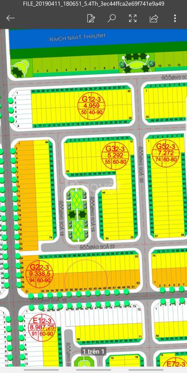 Bán lô đất chính chủ 5x20m, sổ đỏ ngay khu công nghiệp Long Hậu
