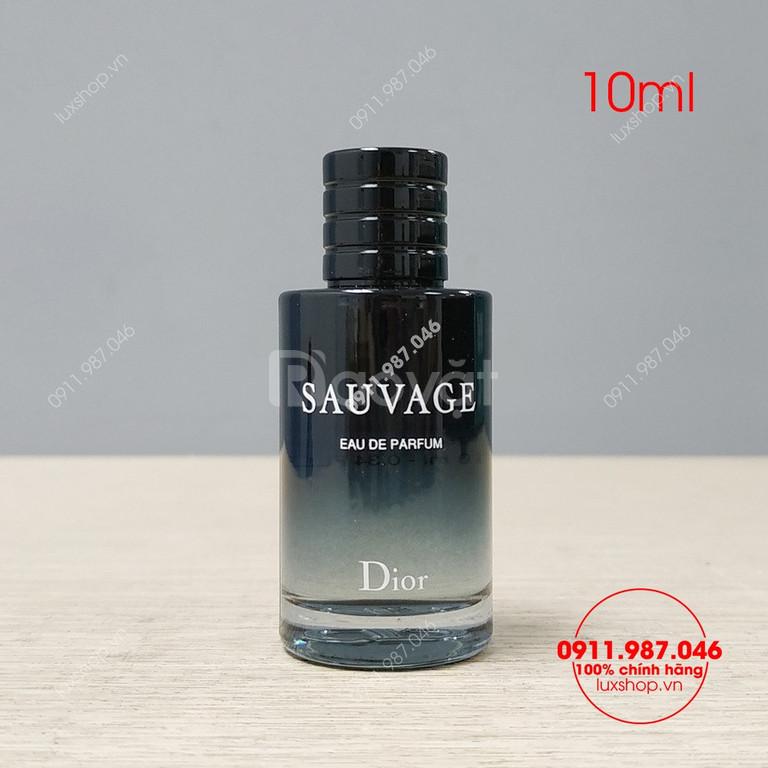 Nước hoa nam Dior Sauvage edp 10ml chính hãng tại luxshop