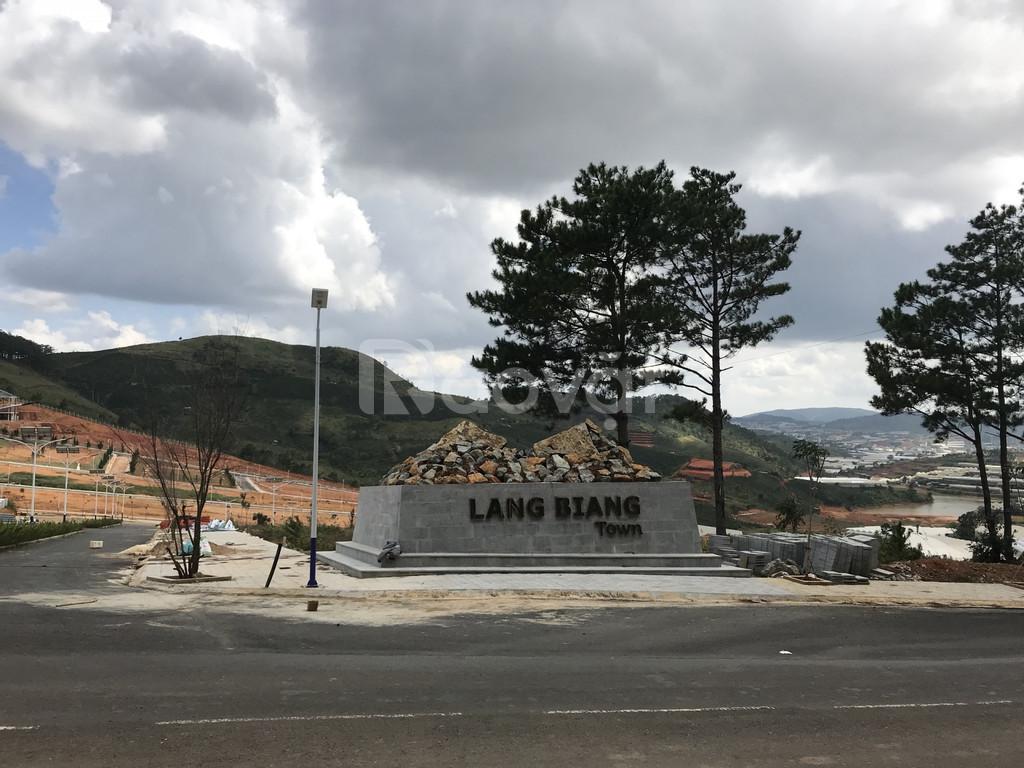 Ra hàng dự án Langbiang Town - dự án đẹp Đà Lạt