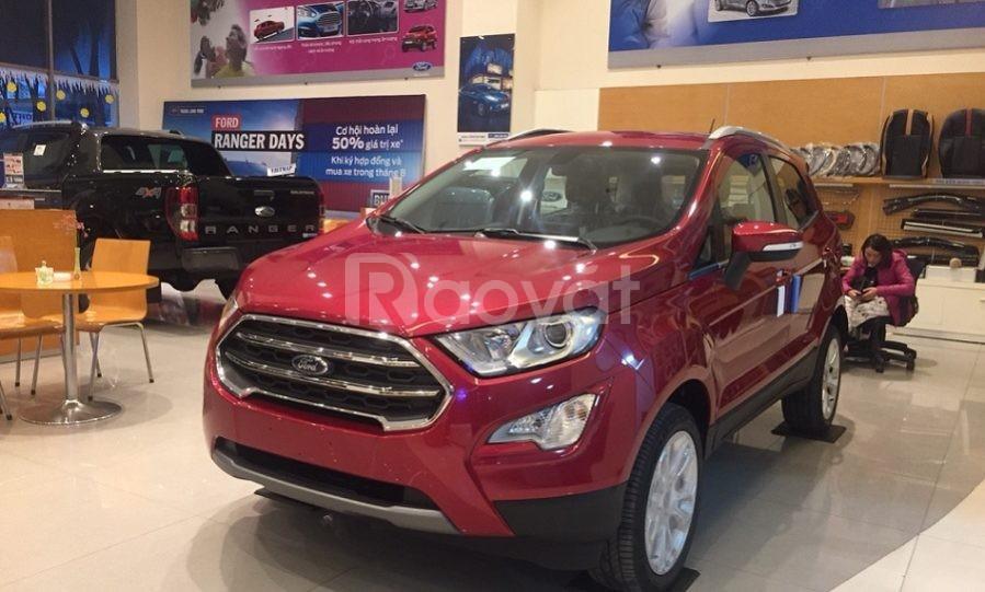 Ford Ecosport, tặng ngay bảo hiểm vật chất và quà tặng trị giá hơn 50
