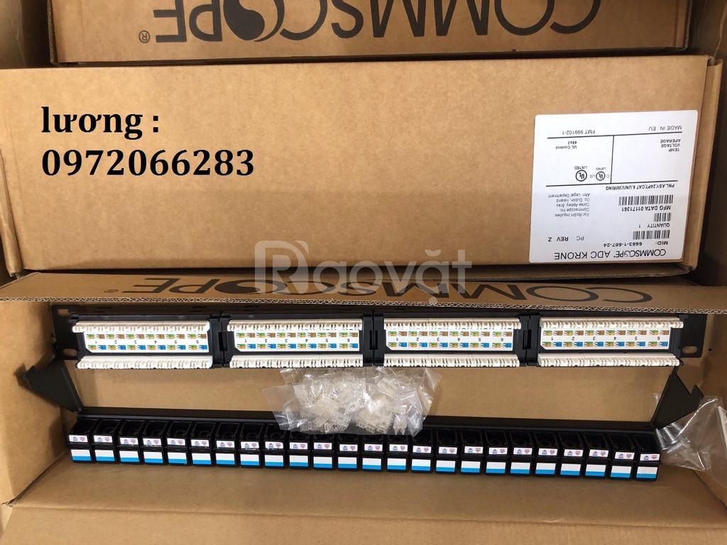 Patch Panel ADC KRONE Cat6 24-port mã 66531679-24