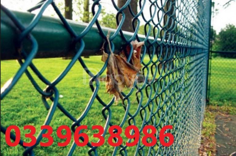 Hàng rào sơn tĩnh điện, hàng rào gập 2 đầu mạ kẽm