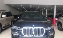 Bán BMW X7 xDrive 40i nhập Mỹ Model 2020, màu đen, nội thất nâu
