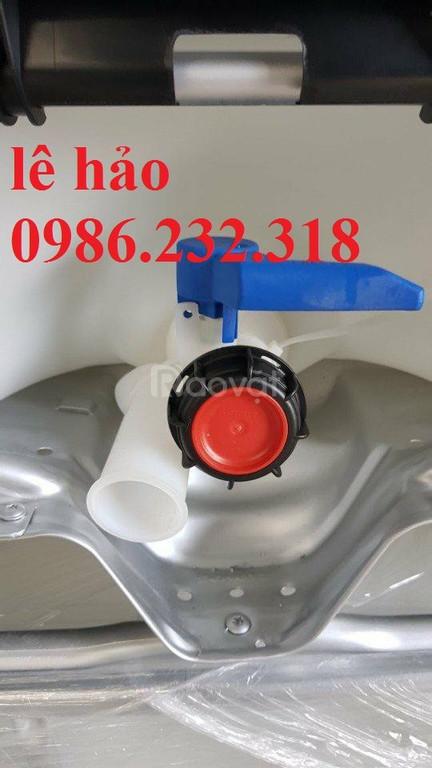 Bồn nhựa 1000l, thùng nhựa 1000l, tank nhựa chứa hóa chất (ảnh 5)