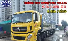 Xe tải Dongfeng 4 chân ISL315 mới 2019