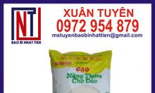 Túi đựng gạo 5kg ép 3 biên