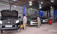 Cần nhượng lại gara ô tô 400m2 full đồ đường Vườn Cam, Nam Từ Liêm.