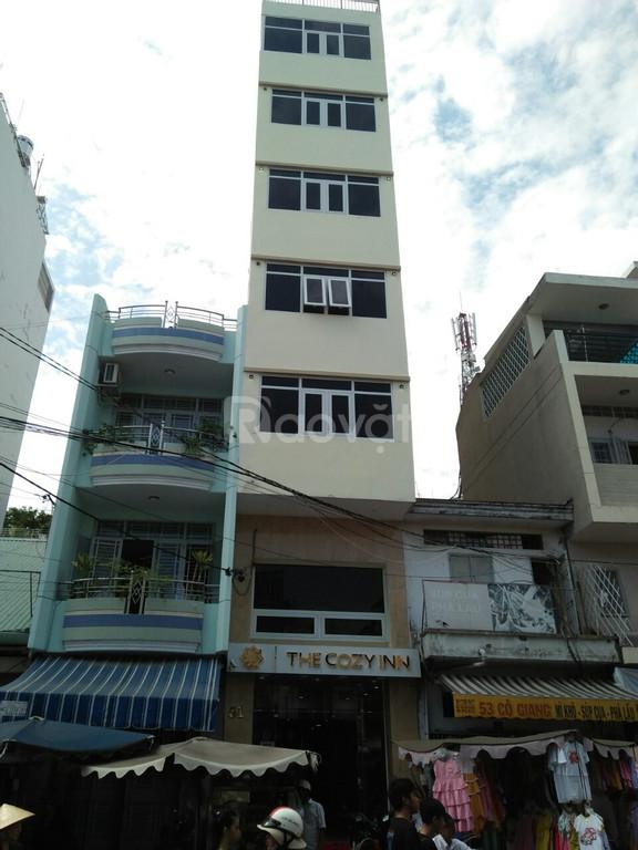 Bán nhà MT Bùi Thị Xuân ngay góc Cống Quỳnh, Q1