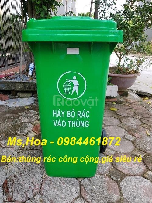 Bán thùng rác công cộng xả kho giá rẻ