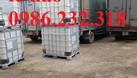 Bồn nhựa 1000l, thùng nhựa 1000l, tank nhựa chứa hóa chất (ảnh 3)