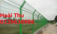 Hàng rào mạ kẽm, lưới thép mạ kẽm, hàng rào chắn sóng