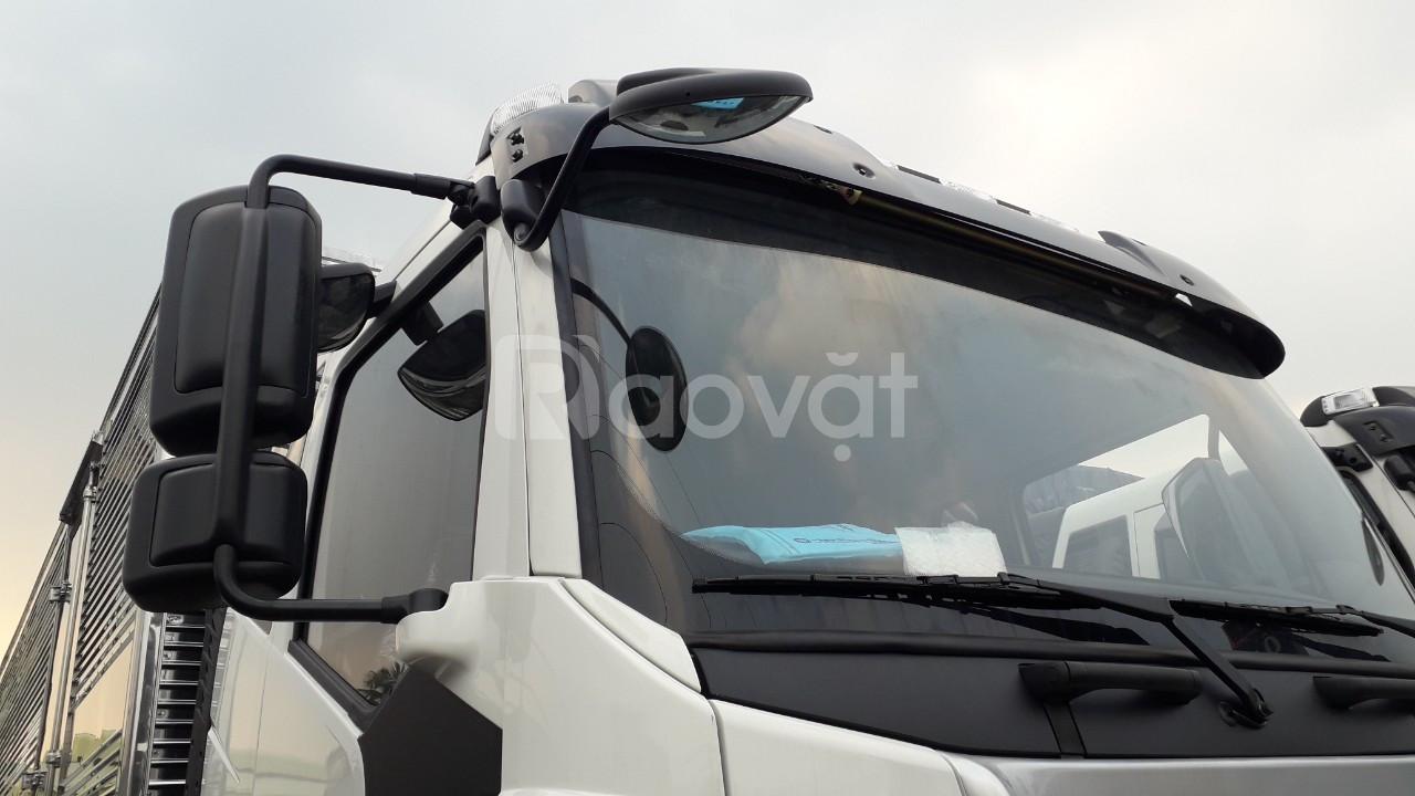 Xe tải Faw thùng dài 9.7m,siêu phẩm xe tải thùng dài đời 2019