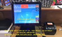 Bán máy tính tiền pos giá rẻ cho quán ăn tại TpHCM