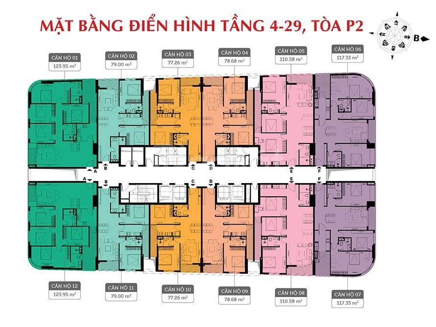 Chính chủ căn hộ Ip2-2912 chung cư 360 Giải Phóng