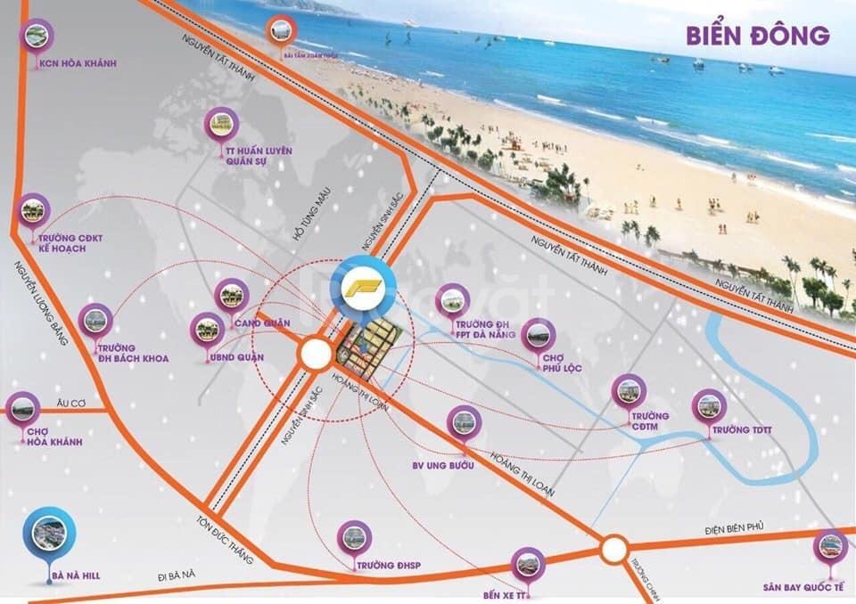 Melody City - Đất mặt tiền ven biển Đà Nẵng