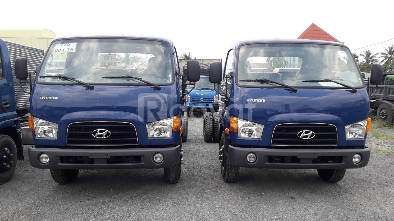 Xe hyundai mighty 110s tải 6 tấn 9 thùng dài 5m