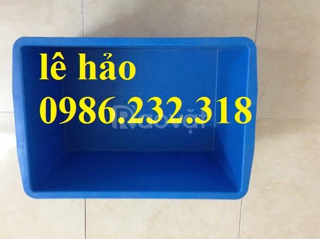 Thùng nhựa giá rẻ, thùng nhựa kín, hộp nhựa b6, thùng nhựa công nghiệp