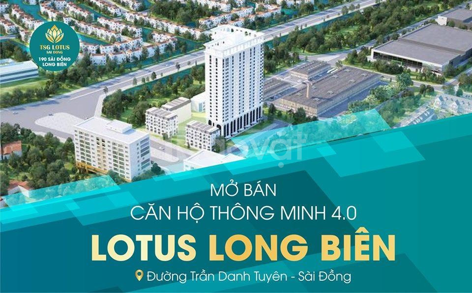 Còn 2 suất ngoại giao dự án TSG Lotus Sài Đồng, giảm ngay 350 triệu