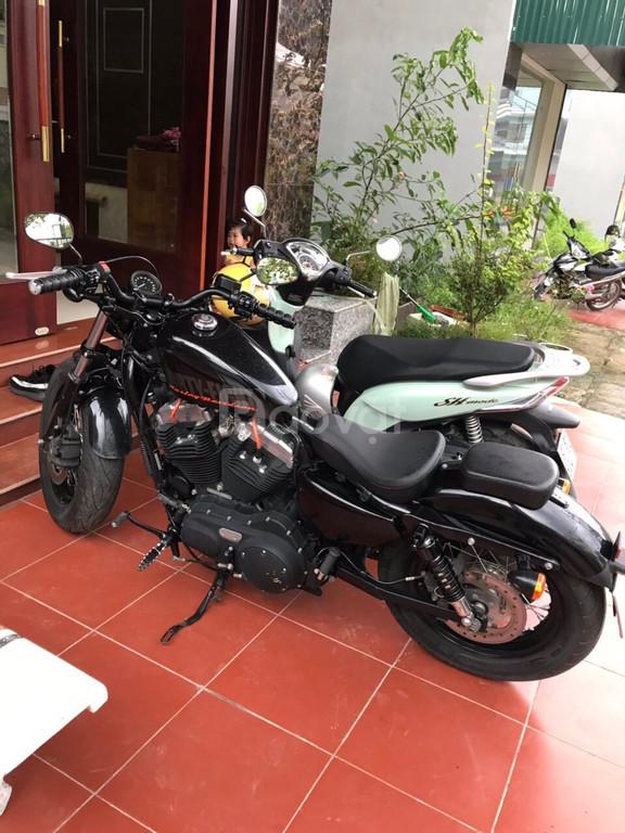 Harley 48 đời 2016, xe mới, đi 3600km giá 160tr, giấy tờ hợp lệ BSTP
