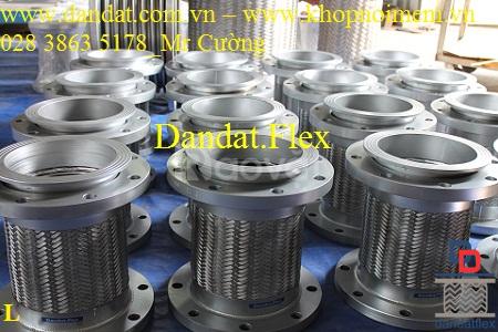 Khớp giảm chấn - Khớp nối mềm giảm chấn - mối nối mềm inox 304