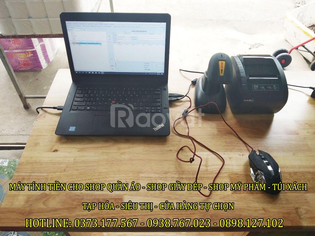 Bán trọn bộ máy tính tiền cho Tạp Hóa – siêu thị mini tại Bắc Ninh