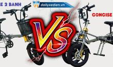Sự khác biệt độc đáo của xe điện đạp gấp Concise 2 bánh và 3 bánh