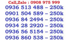 Sim mobi số đẹp giá rẻ đầu 09, trả trước, đăng ký chính chủ.